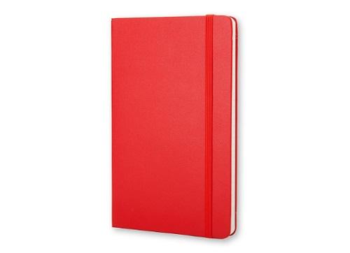 Red Moleskin Notebook