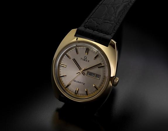 Gold 1975 Reissue Q Timex