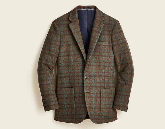 J. Crew Ludlow Slim-fit patch pocket blazer in wool blend